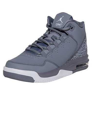 JORDAN BOYS Grey Footwear / Sneakers