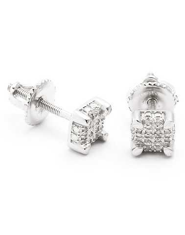 KING ICE MENS Silver Accessories / Jewelry OSFA