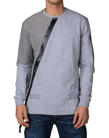 HUDSON OUTERWEARENS Grey Clothing / Tops