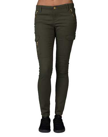 ESSENTIALS WOMENS Dark Green Clothing / Bottoms