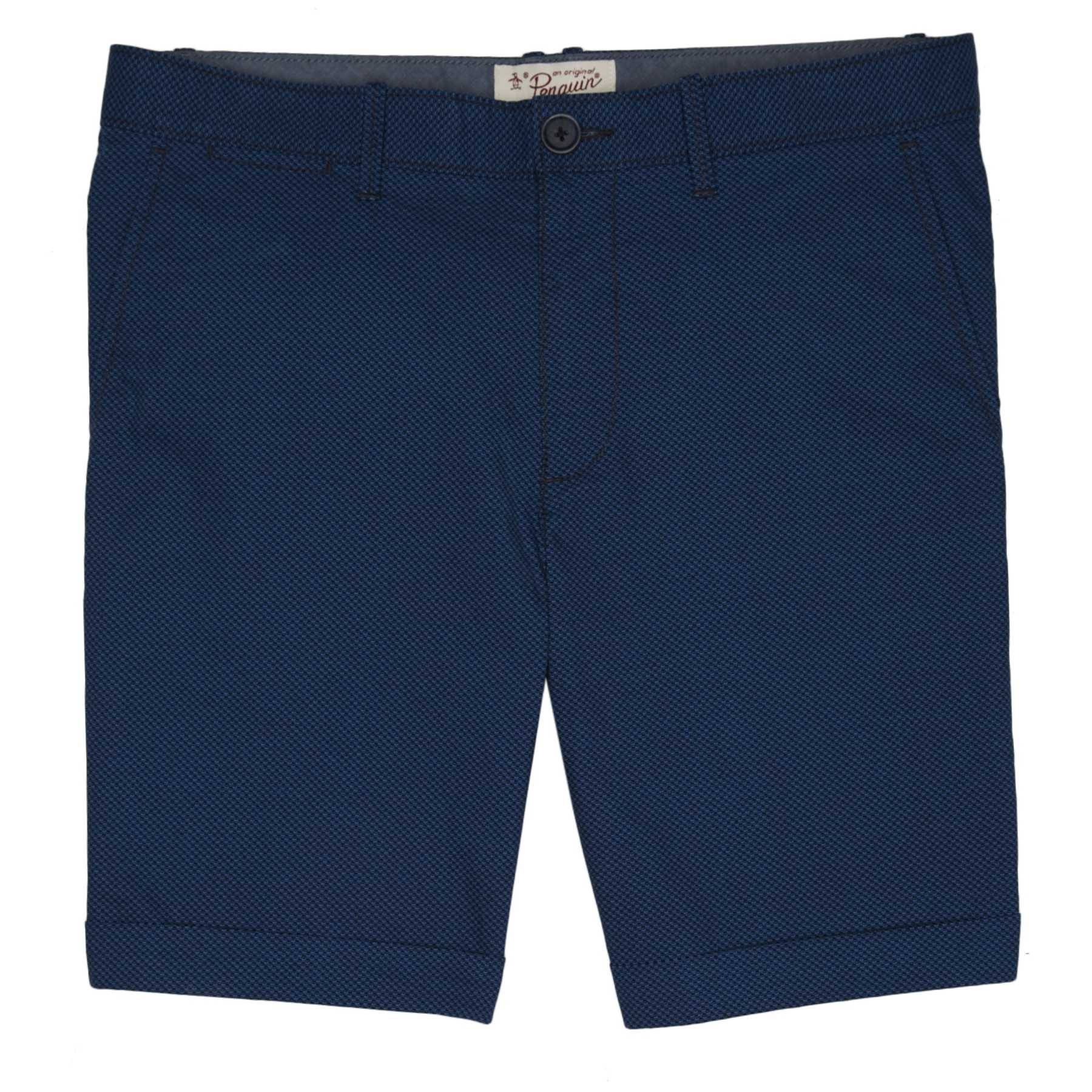 Original Penguin MICRO TEXTURE CUFFED SHORT