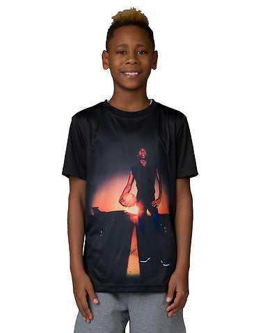 JORDAN BOYS Black Clothing / Short Sleeve T-Shirts