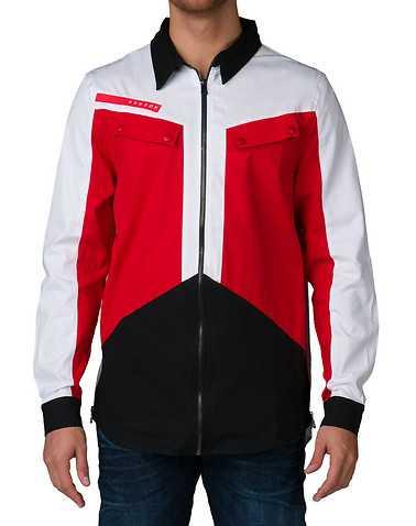 HUDSON OUTERWEAR MENS White Clothing / Button Down Shirts M