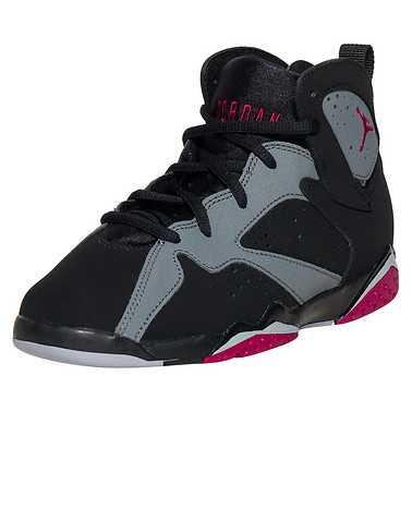 JORDAN GIRLS Black Footwear / Sneakers 1Y