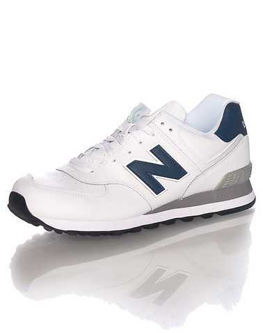 NEW BALANCE MENS White Footwear / Sneakers 10.5