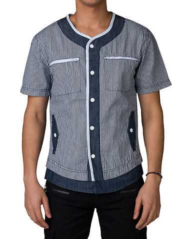 DECIBEL MENS Blue Clothing / Tops L
