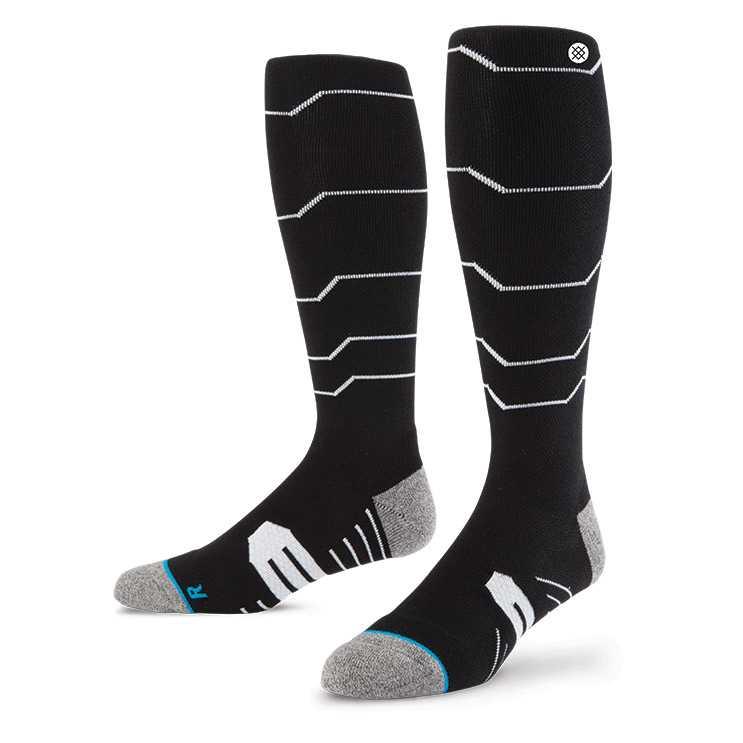 Stance Baldface Snow 2015 BLK S/M BALDFACE LODGE Socks