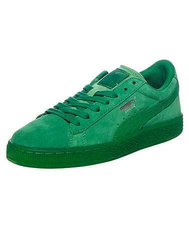 PUMA BOYS Green Footwear / Sneakers 5.5