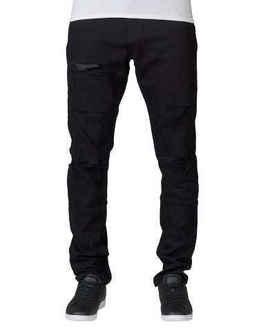 CRYSP MENS Black Clothing / Jeans