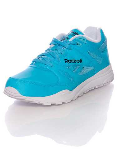 REEBOK BOYS Medium Blue Footwear / Sneakers 6