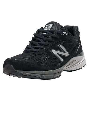 NEW BALANCE MENS Black Footwear / Sneakers