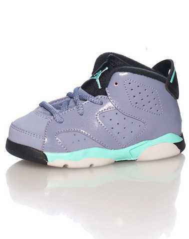 JORDAN GIRLS Purple Footwear / Sneakers 4C