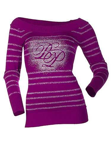 BABY PHAT WOMENS Medium Purple Clothing / Sweaters M