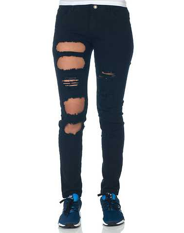 ESSENTIALS WOMENS Black Clothing / Jeans