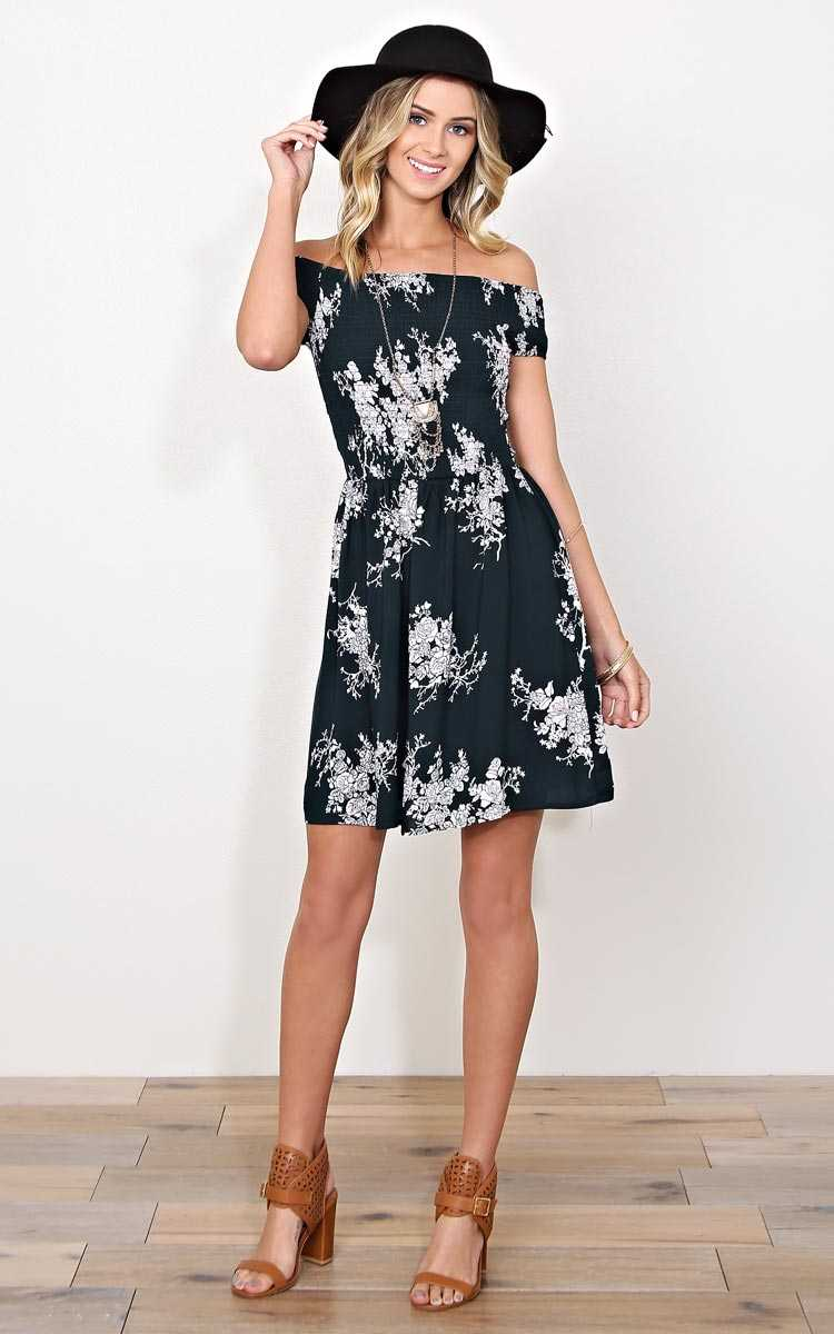 Pocket Full Of Flowers Woven Dress - LGE - Hunter in Size Large by Styles For Less