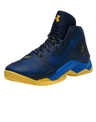 UNDER ARMOUR MENS Dark Blue Footwear / Sneakers
