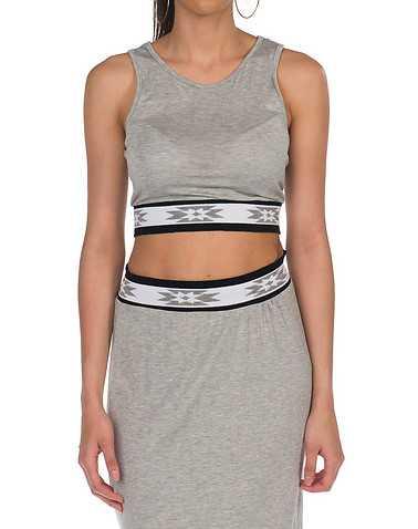 ESSENTIALS WOMENS Grey Clothing / Tank Tops M
