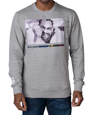 SMITH AND GRAHAM MENS Grey Clothing / Sweatshirts M