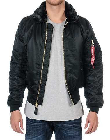 ALPHA MENS Black Clothing / Outerwear XL