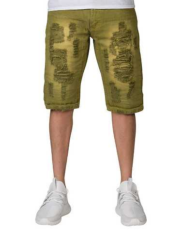 HERITAGE MENS Green Clothing / Denim Shorts