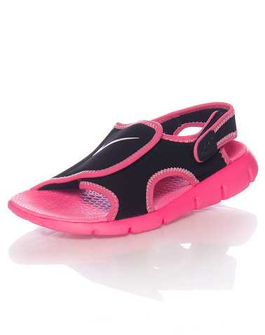 NIKE GIRLS Black Footwear / Sandals