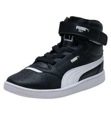PUMA GIRLS Black Footwear / Sneakers 1.5Y