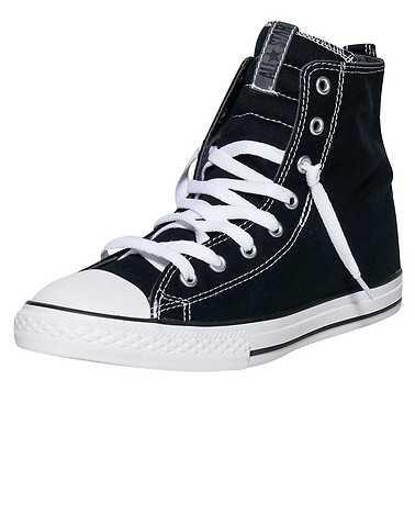 CONVERSE BOYS Black Footwear / Sneakers