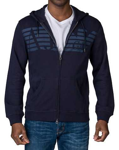 ARMANI JEANSENS Navy Clothing / Sweatshirts