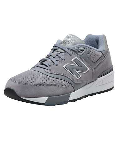 NEW BALANCE MENS Grey Footwear / Sneakers