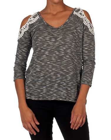 ESSENTIALS WOMENS Black Clothing / Tops S