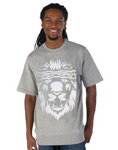 AURA GOLD MENS Grey Clothing / Tees and Polos S