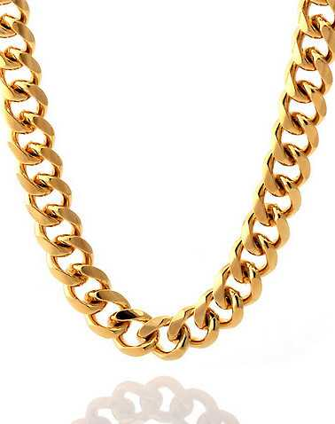 KING ICE MENS Gold Accessories / Jewelry 30