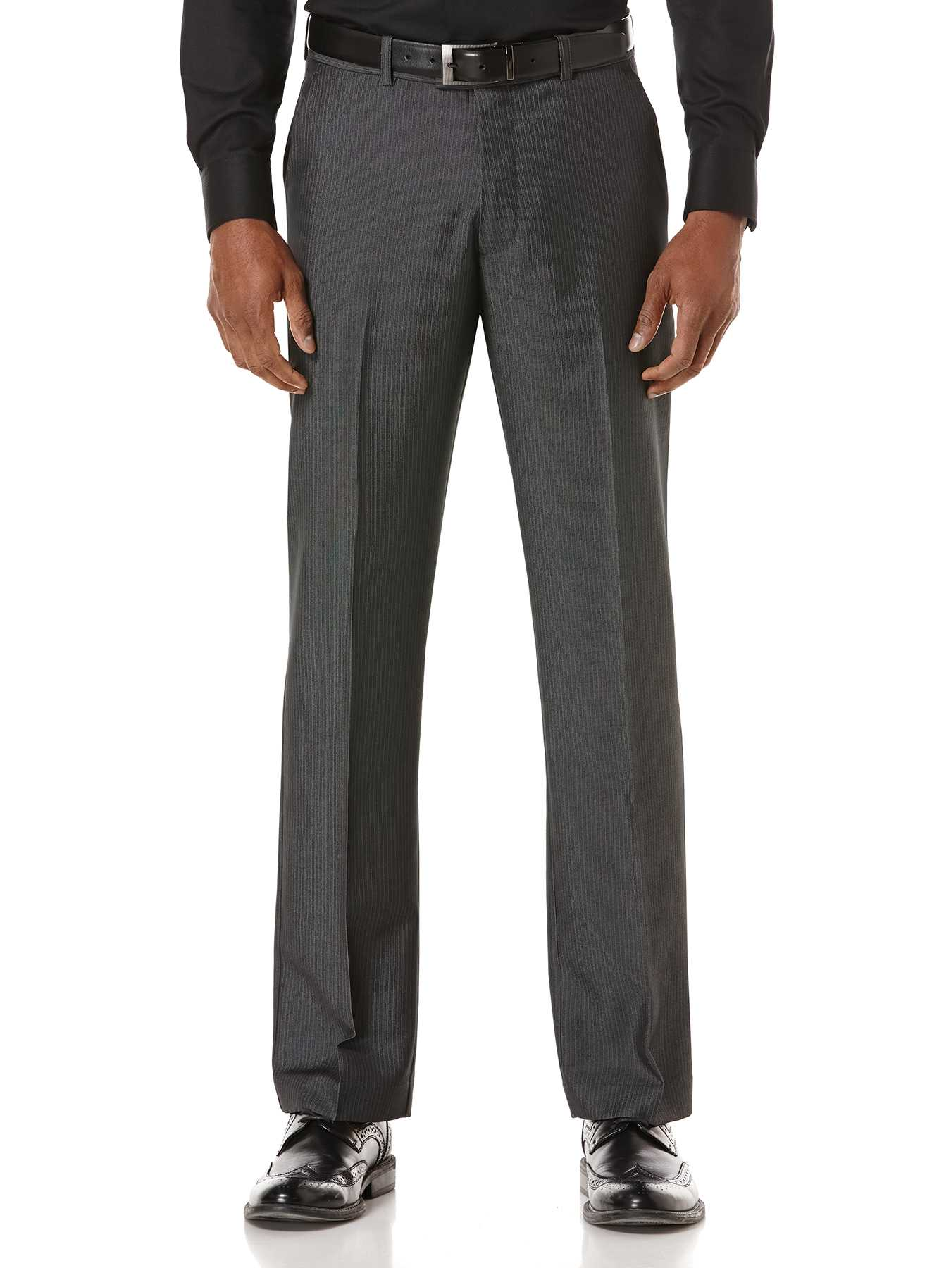 Perry Ellis Pinstripe Dress Pant