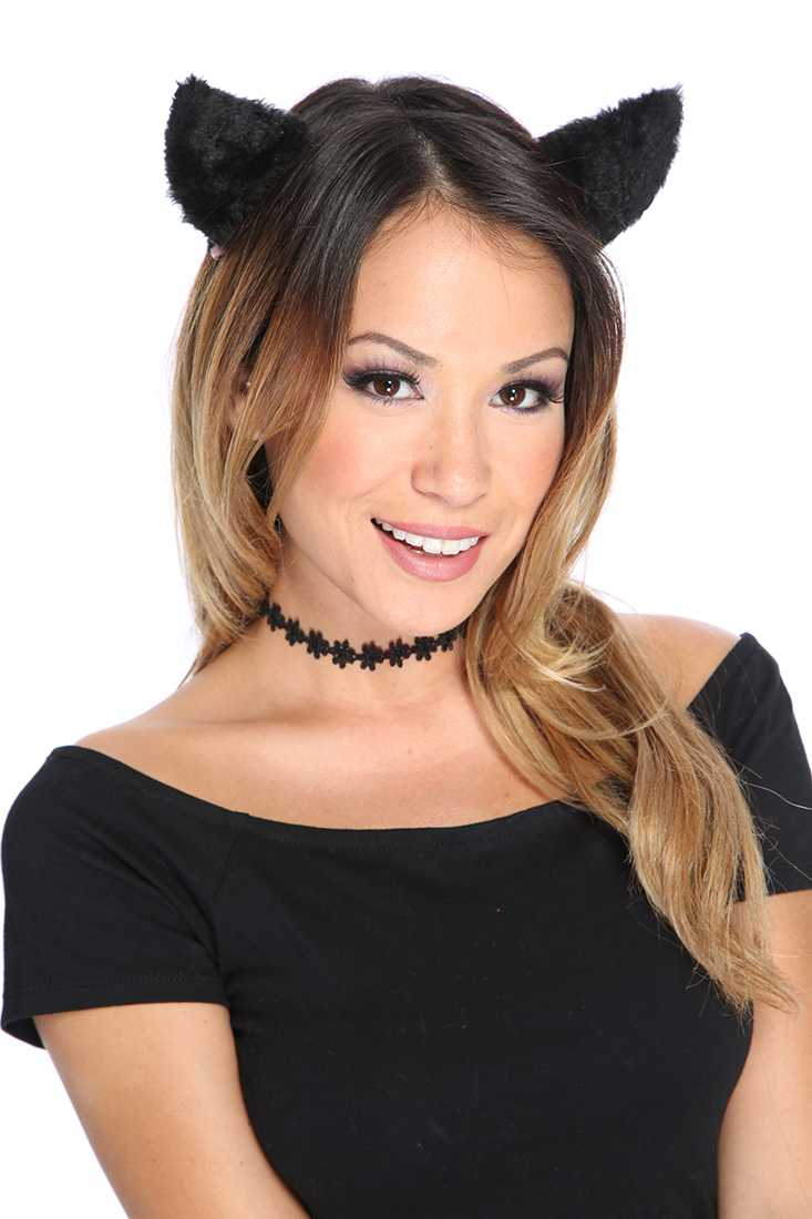 Black Animal Head Band Costume Accessories