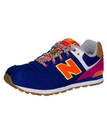 NEW BALANCE BOYS Purple Footwear / Sneakers