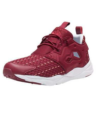 REEBOK MENS Burgundy Footwear / Sneakers