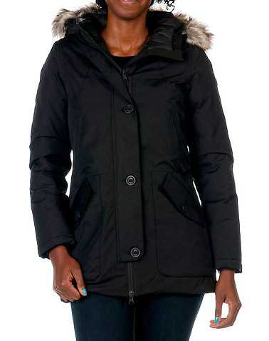 THE NORTH FACE WOMENS Black Clothing / Heavy Jackets