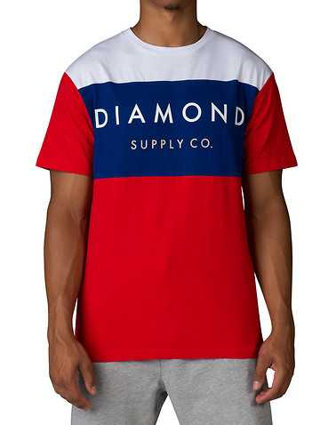 DIAMOND SUPPLY COMPANY MENS White Clothing / Tops L