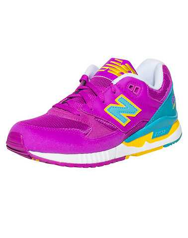 NEW BALANCE WOMENS Purple Footwear / Sneakers 7.5
