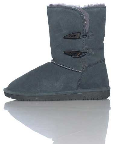 BEARPAW WOMENS Grey Footwear / Boots