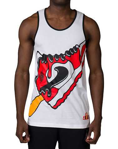 JORDAN MENS White Clothing / Tank Tops