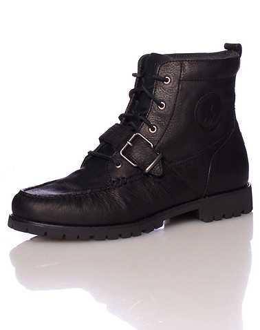POLO FOOTWEAR MENS Black Footwear / Boots 13