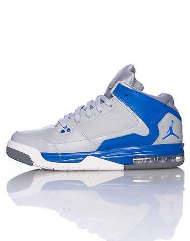 JORDAN BOYS Grey Footwear / Sneakers 6Y