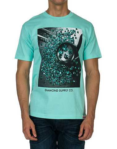DIAMOND SUPPLY COMPANYENSedium Blue Clothing / Tees and Polos