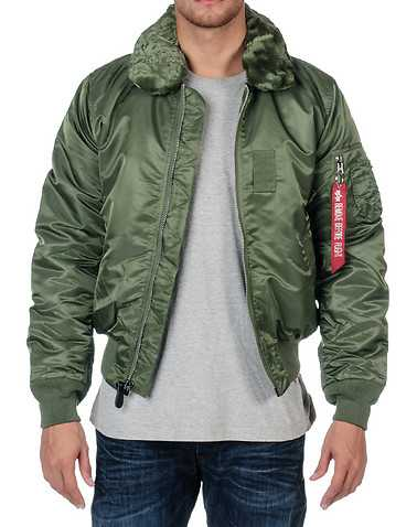 ALPHA MENS Green Clothing / Outerwear XL