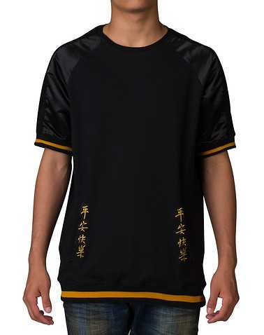 BLACK PYRAMID MENS Black Clothing / Tops