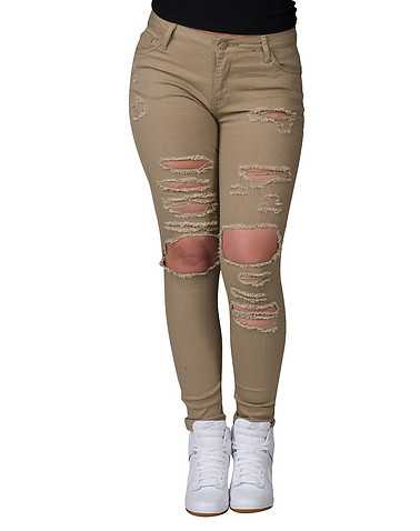 ESSENTIALS WOMENS Beige-Khaki Clothing / Bottoms