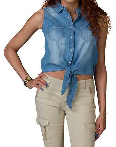 ESSENTIALS WOMENS Blue Clothing / Tops M