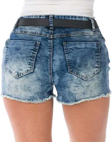 BOOM BOOM JEANS WOMENS Blue Clothing / Denim Shorts 3