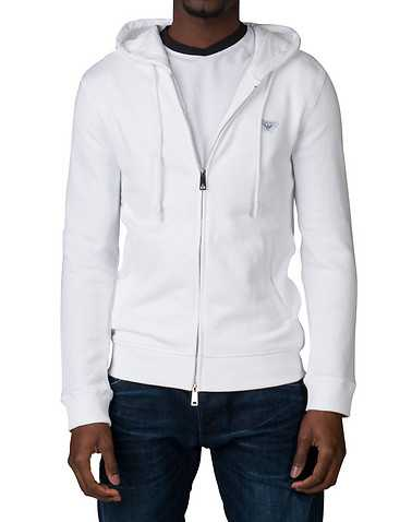 ARMANI JEANS MENS White Clothing / Sweatshirts S